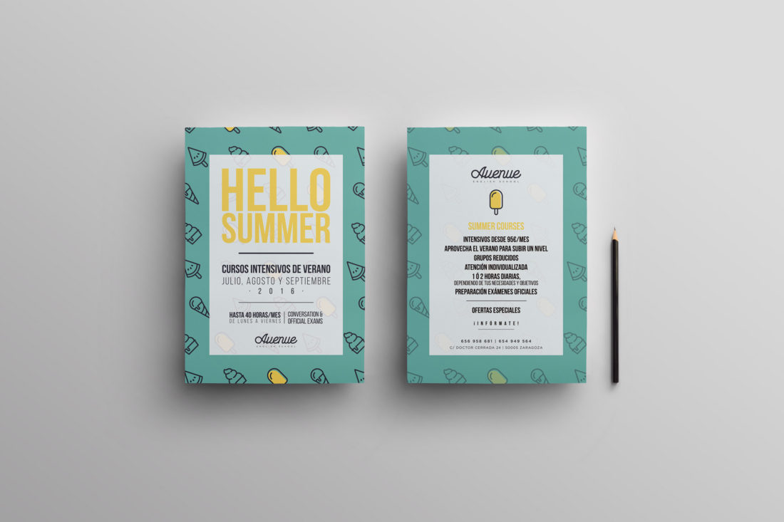 Avenue-flyer-campaña-summer