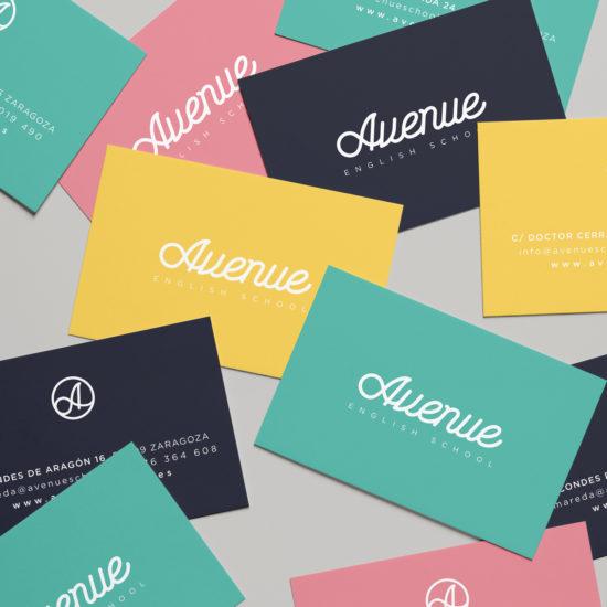 Avenue-Zaragoza-diseño-tarjetas-visita