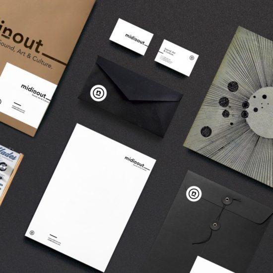 Diseño imagen grafica midinout-estudio limo-zaragoza