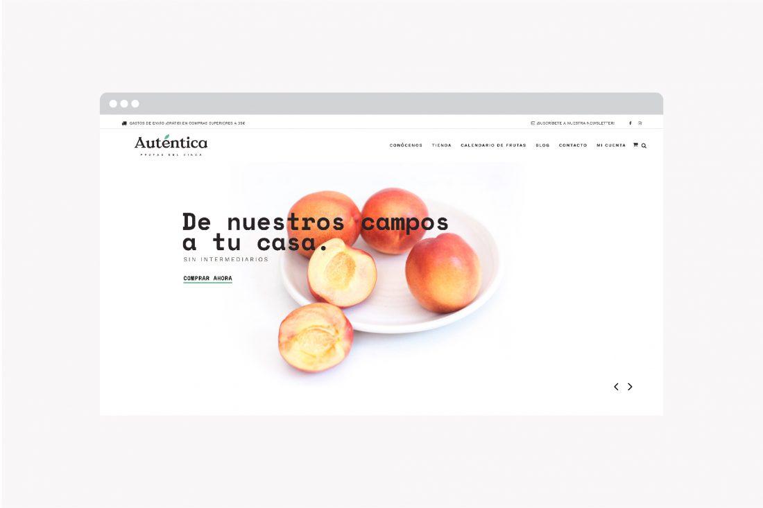 diseño web shop online autentica